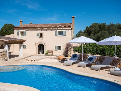 Photo for Stylish finca with sea views in a quiet environment