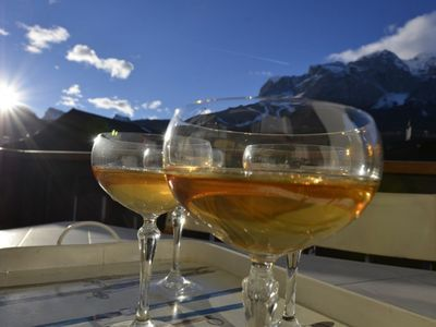 Photo for CàNovella: apartment in the centre with free WIFI and terrace overlooking Dolomiti.