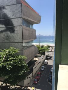 Photo for Apartment on the beach of Copacabana