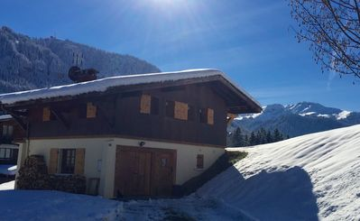 Photo for Chalet very close to Megeve centre ideal for families or groups of friends