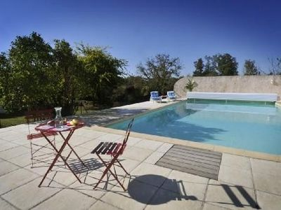 Photo for Cottage with pool 15 minutes from the ocean