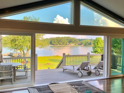 Photo for The Best New Property for Rent on Lake Norman.  2018 Renovation - Waterfront.