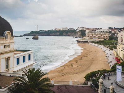 Photo for Keyweek Elegant Apartment with Elevator, Ocean Views in Biarritz