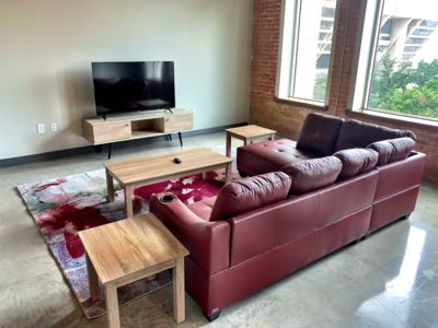 Photo for Unique Apt w/King Bed | Pool | Wifi | Parking |Gym