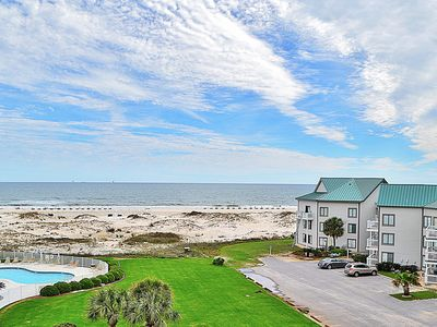 Photo for Beachfront condo w/ balcony, Gulf views & shared pools, hot tub, tennis & more!