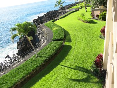 Photo for Top Floor Ocean Front Condo, Absolutely Stunning Unobstructed Views! Keauhou Bay