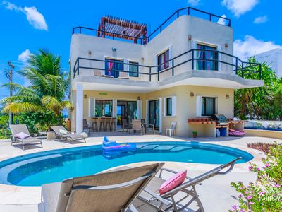 Photo for Fantastic 3 Bedroom House with  Pool  in Punta Sur