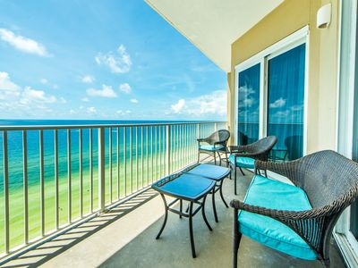 Photo for ☼Grandview East 1503-3BR☼ GulfFront! GR8 RATES! Snowbirds only $1800/mo! FunPass