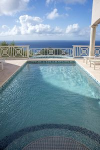 Photo for Stunning Villa with, Pool, Hot Tub, 180 Degree Sweeping Ocean Views