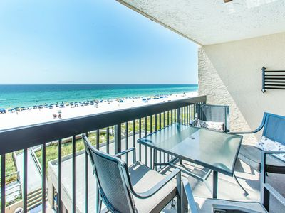 Photo for ☀SunDestin 506☀Beachfront 1BR+BunksDEAL>Oct 19 to 21 $533 Total! In&Outdoor Pool
