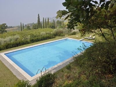 Photo for 6 bedroom Villa, sleeps 10 in Cortelline-Castello with Pool and WiFi