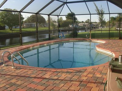 Photo for Vacation Home With Pool On Salt Water Canal Reasonable Rates