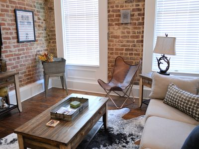 Photo for Outdoors and Adventure themed, Historic luxury condo, 2 blocks from French Quarter""