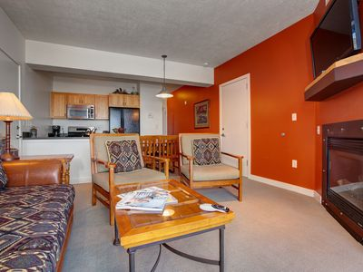Photo for Top Floor Views w/3 Hot Tubs & Pool! Onsite Ski Rental-3min to Lake and Ski
