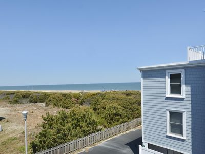 Photo for Ocean Views, 50 Steps to Quiet Beach in Fenwick Island.