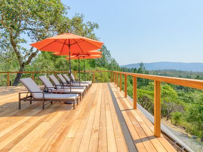 Photo for 2BR Sonoma Valley Vineyard-View Cottage w/ Loft—Private Hot Tub & Shared Pool