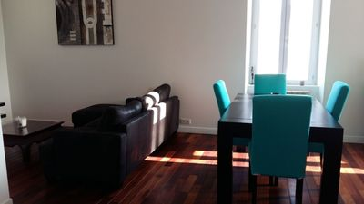 Photo for Superb T3 4 persons furnished in the heart of Saint Gilles
