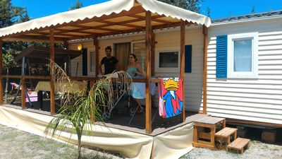 Photo for Camping Praia Mare - mobile home on the sea (Annex 5)