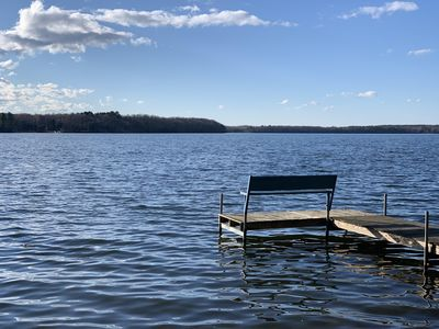 Photo for Year-Round Lakefront Cabin with Boat Slip, near Snowmobile Trails