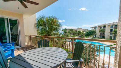 Photo for Gulf and Pool Views from this Stunning 30A High Pointe Resort Condo!