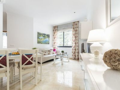 Photo for L'Ampolla Apartment, Sleeps 4 with Air Con and Free WiFi