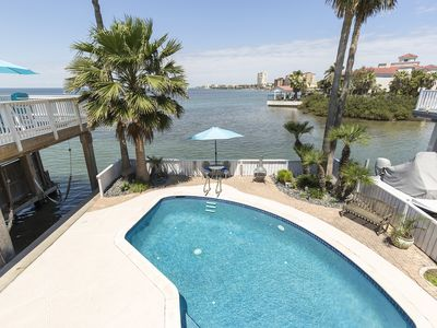 Photo for Bayfront House with Boat Slip, Fish Right from Backyard! Private Pool, Incredible Views of Bay!
