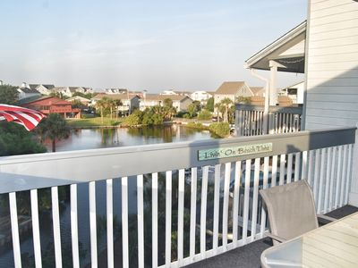 Photo for Hermitage 3G- Spacious Condo with lake views in Surfside Beach