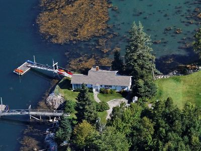 Photo for Breathtaking Oceanside Cottage perched on the edge of Linekin Bay!