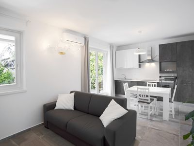 Photo for Modern Apartment Close to Lake Garda with Wi-Fi & Terrace; Parking Available
