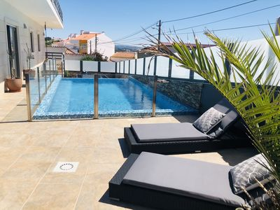 Photo for Holiday home in Foz, 3 bedrooms/bathrooms with private pool, garden & bbq