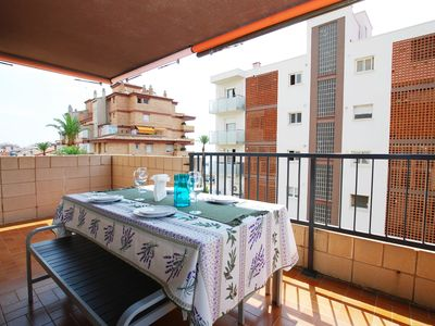 Photo for Mediterranean apartment in Vilassar de Mar