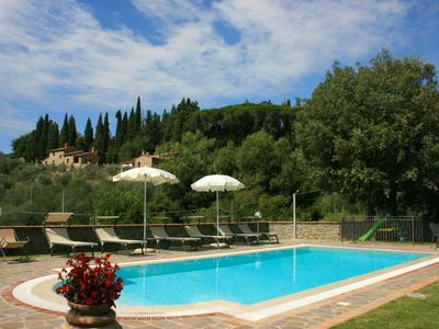 Photo for Part of  country house  with private  pool, wi-fi.  Province of  Arezzo.