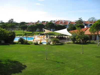 Photo for Luxurious Duplex Ground Floor Apartment At The 5* Vila Sol Golf Resort,Vilamoura