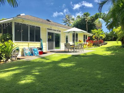 Photo for Happy House on Exquisite Kailua Beachside Property!