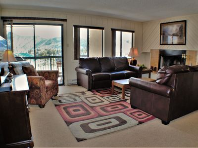 Photo for Beautiful 1st Floor Condo Short Walk To Slopes at Purgatory Resort - WiFi, Views
