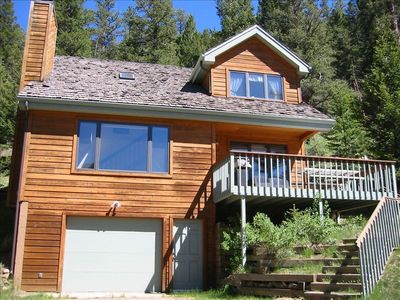 Photo for Peaceful Home on River **Walk to Rocky Mtn NP and YMCA**