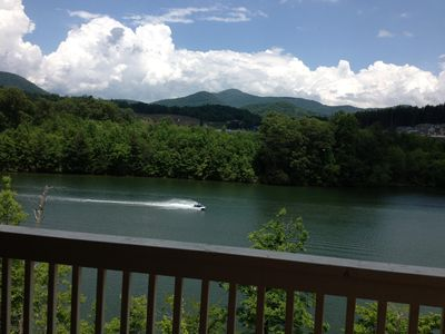 Photo for Live in paradise, New Lakefront,Deep Water  w/ private dock/2 Kayaks/Firepit!