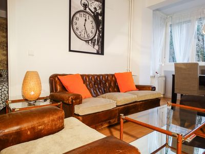 Photo for Quiet and renovated apartment very close to the Metro. Ideal for families and friends