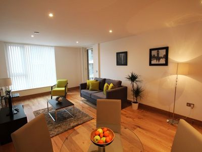 Photo for Fusion Court 1B apartment in Hackney with WiFi, balcony & lift.