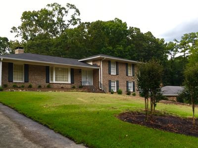 Roomy 5 bedroom with great yard, only two miles to course!!