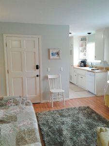 Photo for Beach Front Cottage - 2 blks to train  - Steps from the Sand - Matt. 11:28