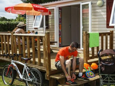 Photo for Camping Le Village Parisien **** - Mobile Home Club 3 Rooms 5/7 Persons