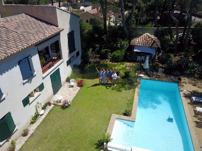 Photo for Large Provencal villa in the heart of Provence with garden and swimming pool