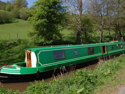 Photo for Cruise the beautiful River Wey on our quiet and comfortable electric narrowboa