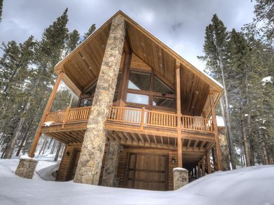 Photo for Luxury Cabin - views, location, perfect for families, 4 miles from Breckenridge