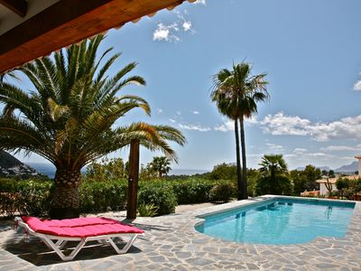 Photo for Villa Paloma with sea view in El Portet, Moraira