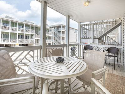 Photo for Pet Friendly Condo with Partial Oceanview Just Steps to the Beach