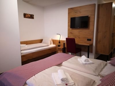 Photo for Triple room with shower, WC - Hotel Aschauer Hof