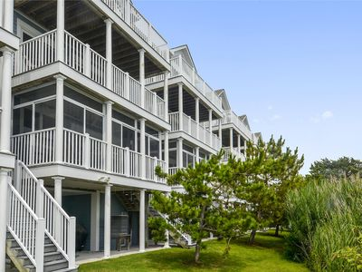 Photo for FREE DAILY ACTIVITIES!!  Waterfront location with bright and beachy decor this vacation townhome boasts incredible views from every level!  Located in North Bethany close to the Indian River Inlet and marina