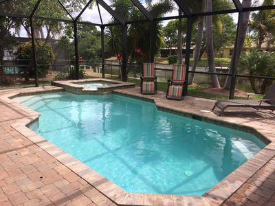 Photo for New to VRBO,Modern, Family Friendly Home On The Water-Heated Pool-Spa, FREE WIFI